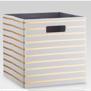 3 Collapsible Threshold Fabric Storage Cubes